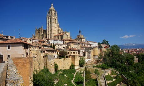 The cathedral at Segovia.