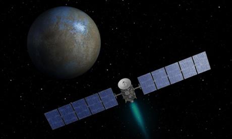 Dawn on Ceres: Nasa probe to enter dwarf planet's orbit