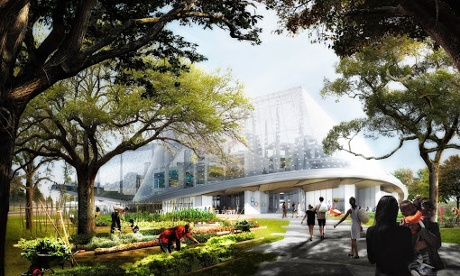 Google's new headquarters: an upgradable, futuristic greenhouse