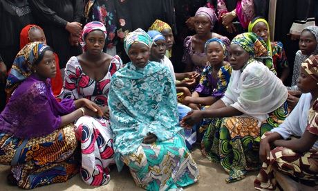 Chibok girls who escaped Boko Haram defy militants by returning to school