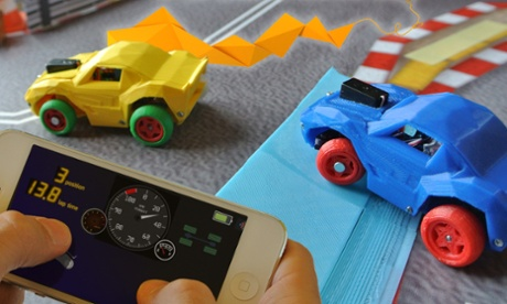 3DRacers seeks funding for Scalextric-style racing toy with 3D-printing twist