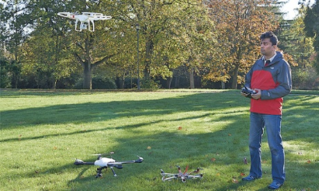 Battle of the drones: the little guys taking on the tech giants