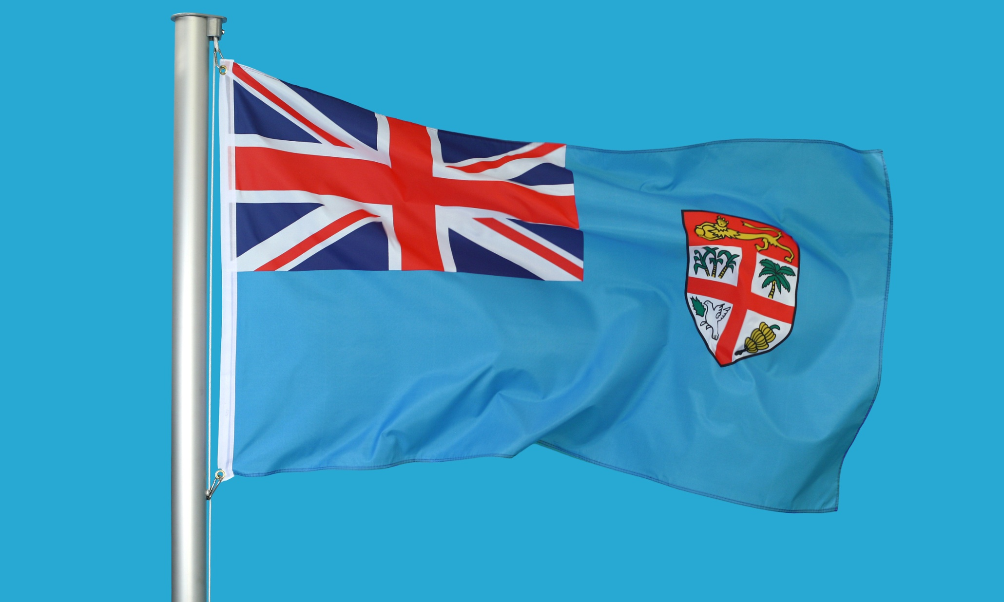 postcolonial  yes  but fiji u0026 39 s new flag will also be a break with the chiefs u0026 39  power