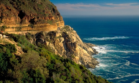 Chapmans Peak Drive makes for a spectacular trip just outside Cape Town. The road was built nearly 100 years ago by prisoners of war.
