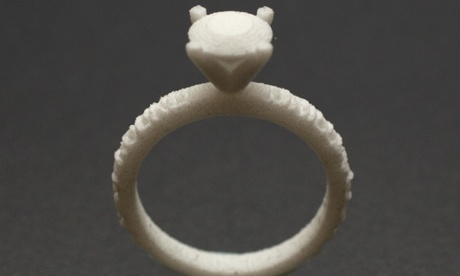 3D-printed engagement rings – the future of jewellery?