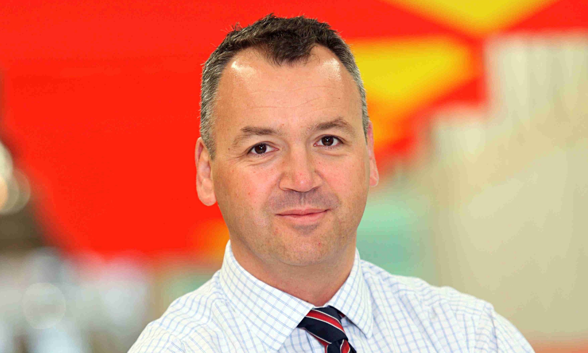 Asda boss Andy Clarke says Tesco is having 'heart surgery' | Business | The Guardian - Andy-Clarke-Asda-chief-ex-009