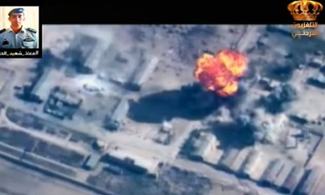 Jordan says it has carried out 56 air strikes against Isis