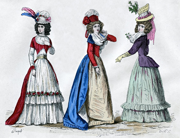 Mary Robinson female fashions for 1799 analysis
