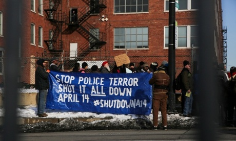 Homan Square protesters demand answers over Chicago police 'black site'