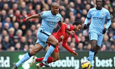 Vincent Kompany's form highlights Manchester City's title struggle