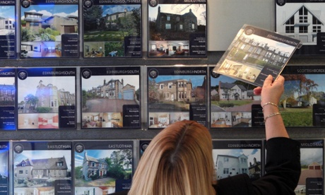 House prices fall in London but rise across rest of UK, says RICS