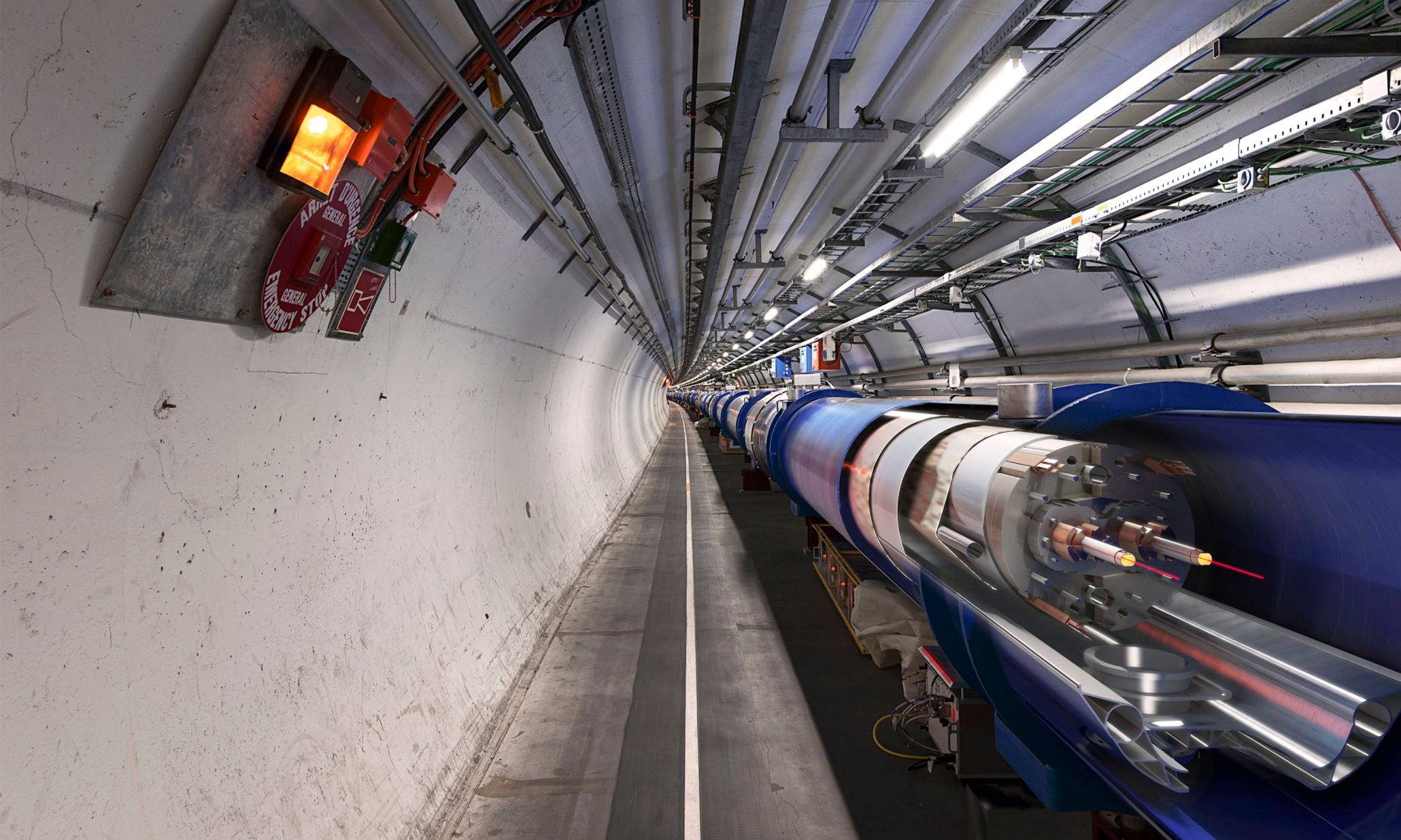 Large Hadron Collider ramps up to shed light on dark matter