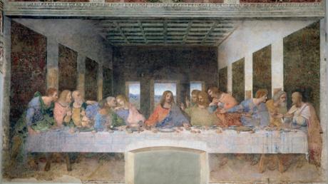 The Last Supper by Leonardo da Vinci.