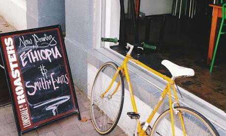 A coffee shop on Braddon's Lonsdale Street.