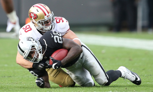 Chris Borland on his early NFL retirement: 'Football could kill you'