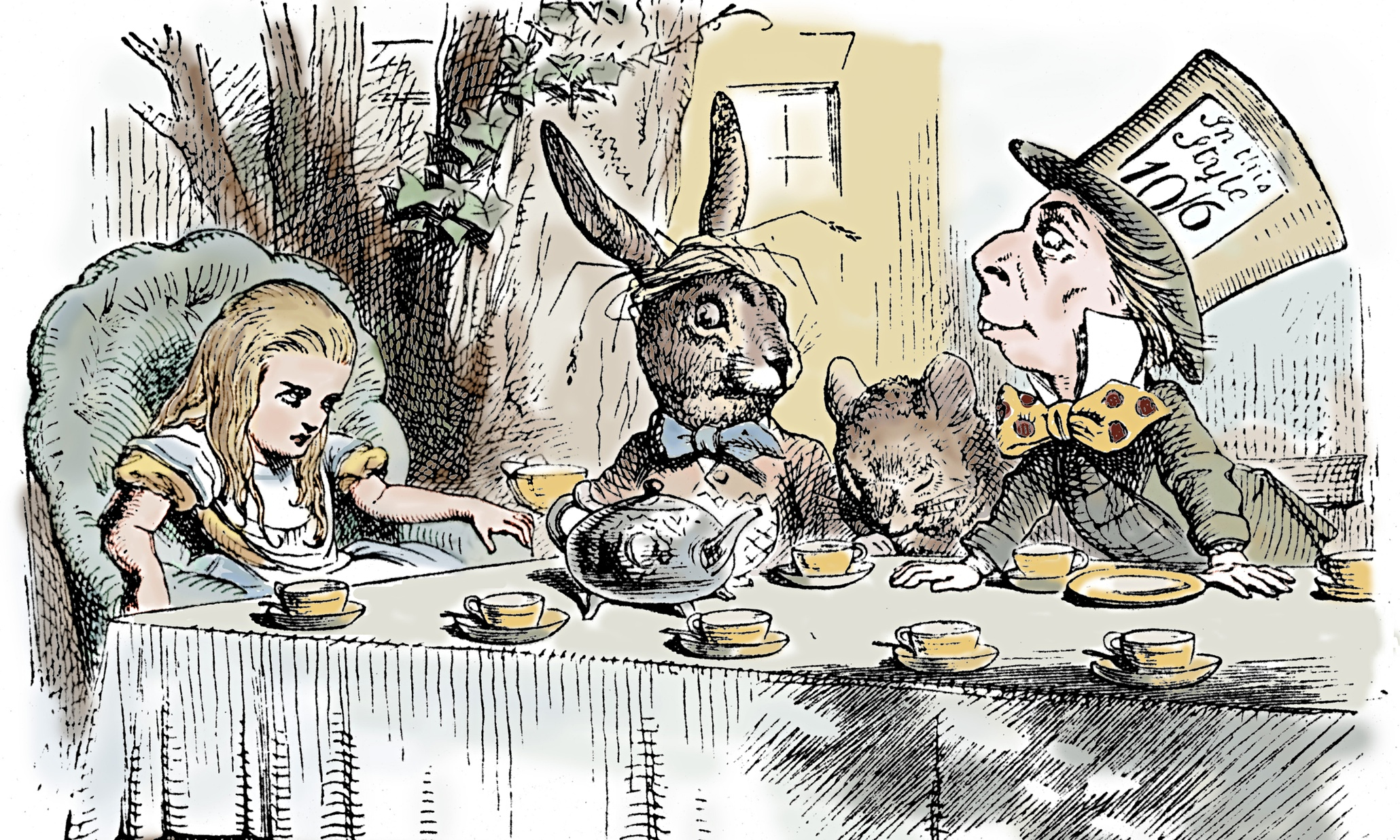 an analysis of representations in alice in wonderland by lewis carroll Alice in wonderland literary analysis many themes are explored when reading alice in wonderland and a curious child lewis carroll's classic alice in wonderland has entertained not only children but adults for auerbach discussed how alice is a representation of a middle.
