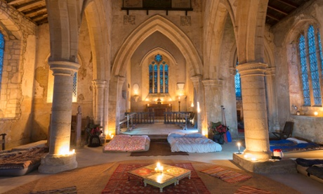 Let us stay … country churches offer overnight stays for £60pp a night