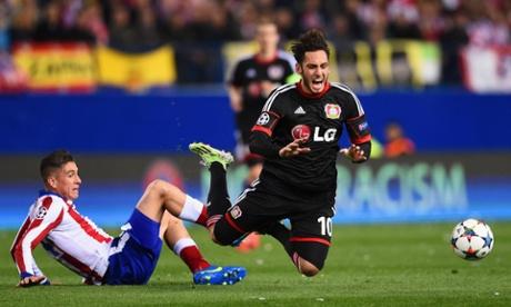 Atlético Madrid beat Bayer Leverkusen on penalties: Champions League – as it happened
