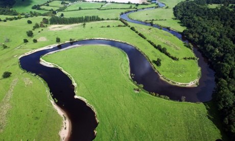 A meandering tale: the truth about pi and rivers