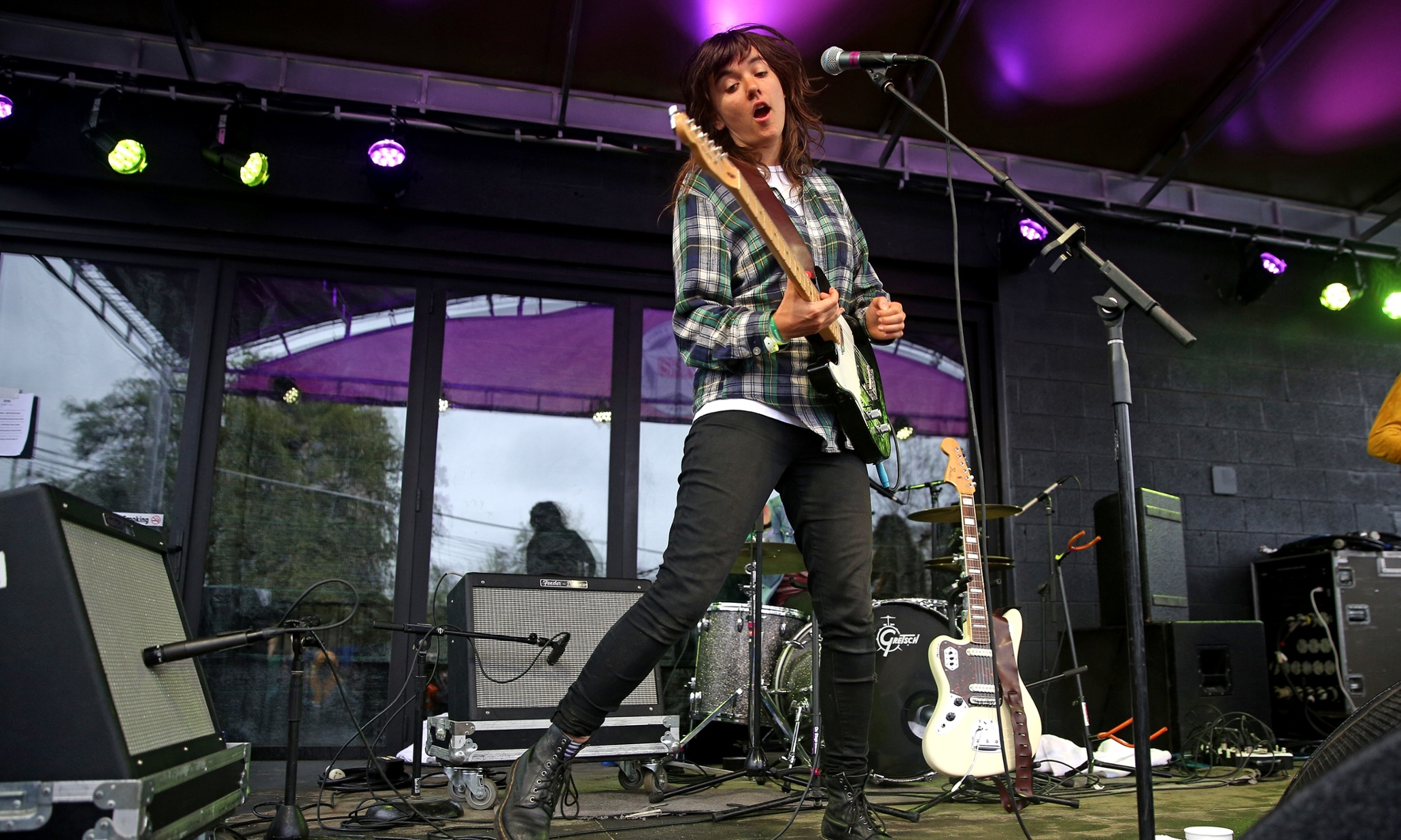 Courtney Barnett at SXSW review – venue strips the music's magic