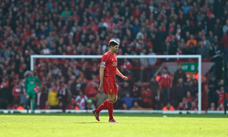 Red card for Liverpool's Steven Gerrard proof of Manchester United strength | Barney Ronay