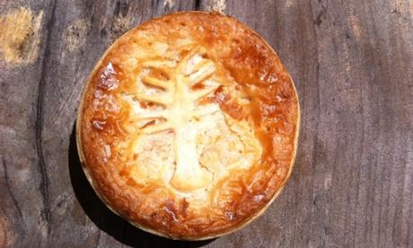 King Island crayfish pie