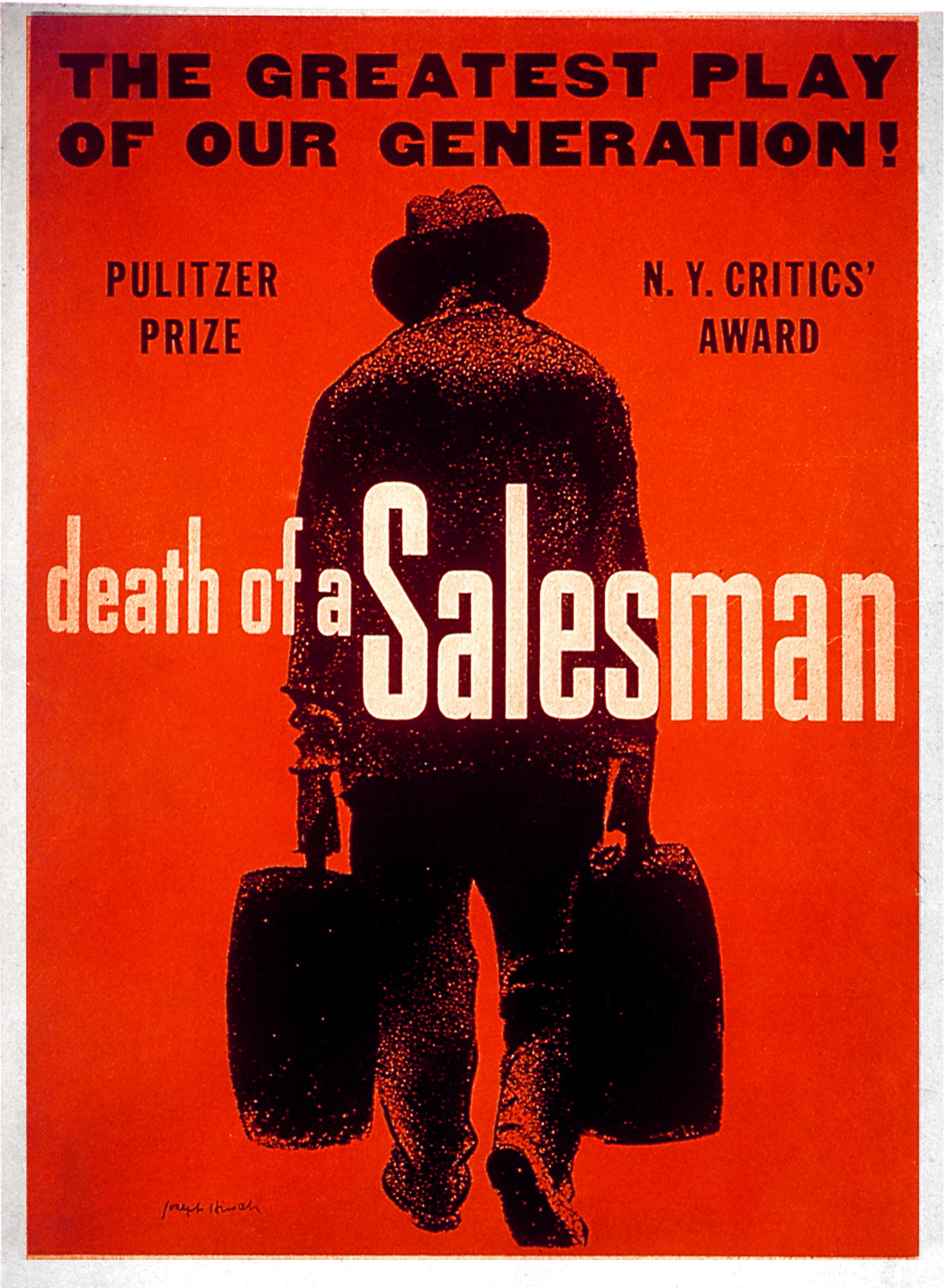 american dream death salesman Introduction if but one text were chosen as the embodiment of the failure of  an american dream, death of a salesman would be it arthur miller's 1949 play.