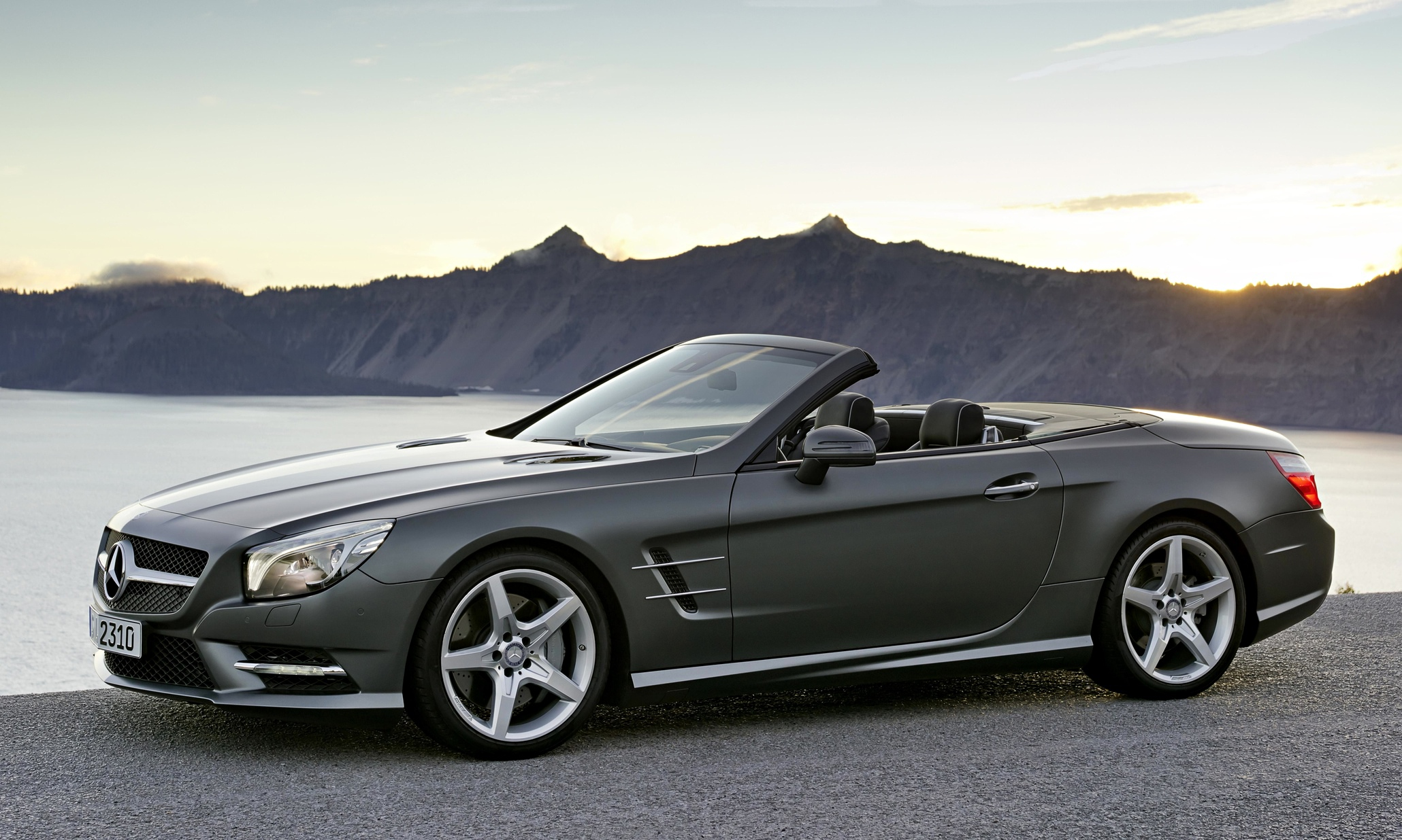 Mercedes benz sl400 car review technology the guardian for Mercedes benz average price