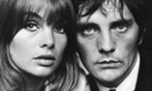 A close cropped portrait of British actor Terence Stamp and model Jean 'The Shrimp' Shrimpton, London 1963.