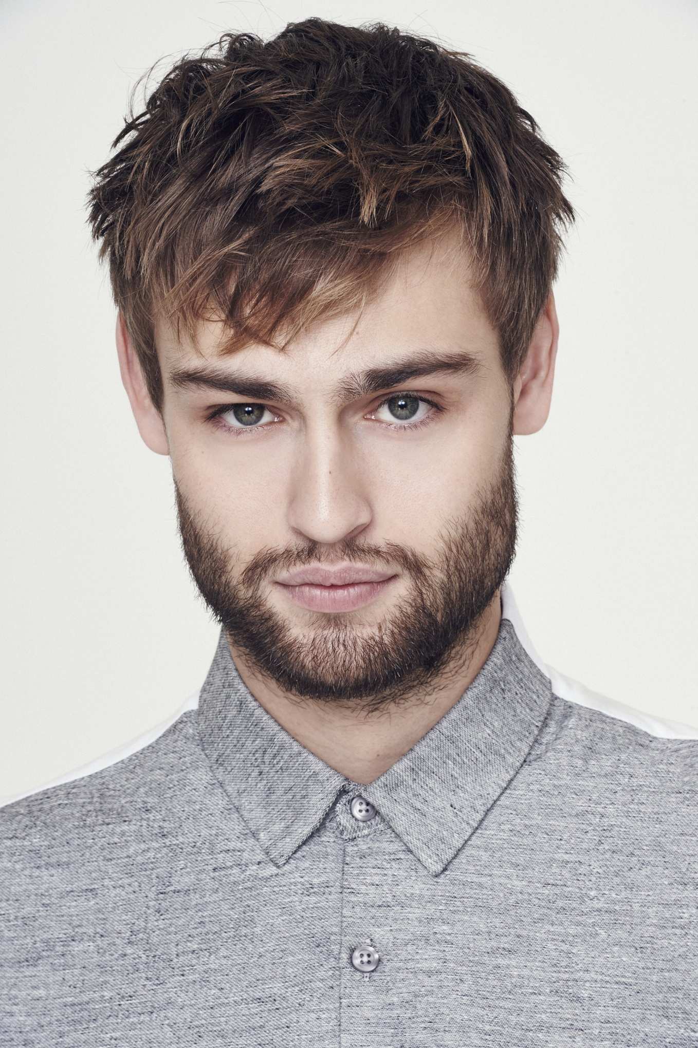 Douglas Booth Models Menswear For Spring 2015 In