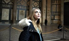 Cara Delevingne in Michael Winterbottom's crime drama The Face of An Angel.