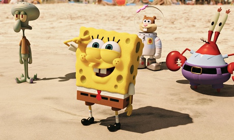 The SpongeBob Movie: Sponge Out of Water review – hard-to-beat craziness