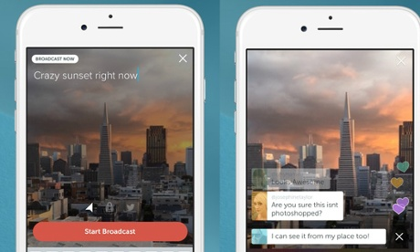 Twitter launches Periscope live video streaming app to rival Meerkat