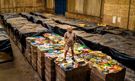 Record collector builds world's largest vinyl hoard – six million and counting