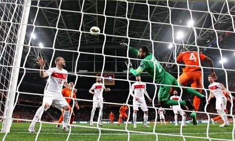 Holland 1-1 Turkey | European Championship Group A qualifying match