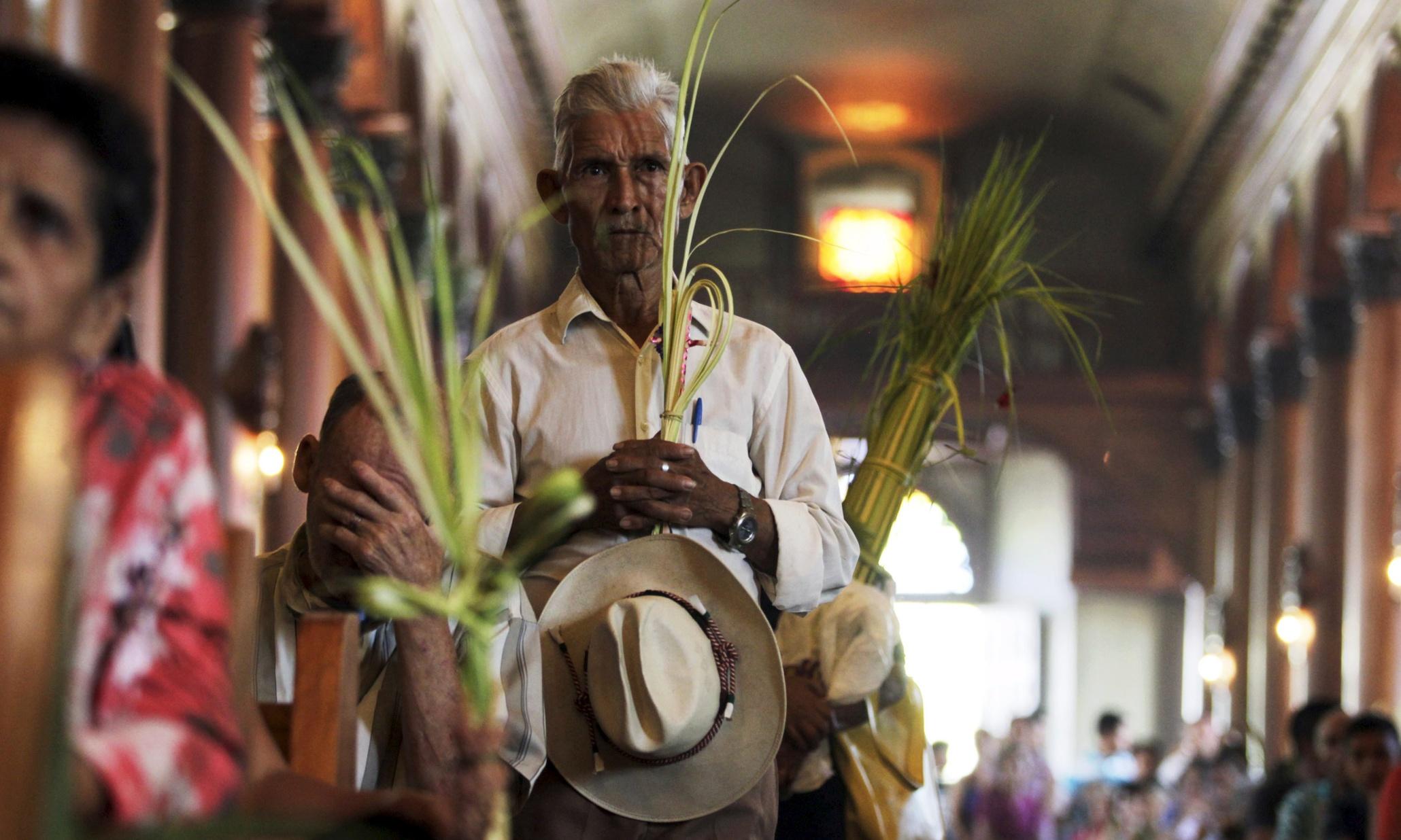 Palm Sunday around the world - Magazine cover