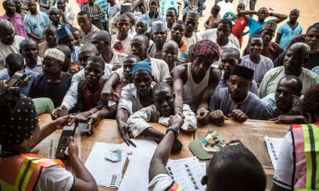Nigeria elections: protests erupt following knife-edge vote