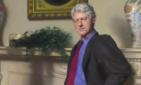 Bill Clinton portrait artist hints at Monica Lewinsky scandal