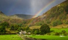 Better weather could be on the way: Ullswater in the Lake District.