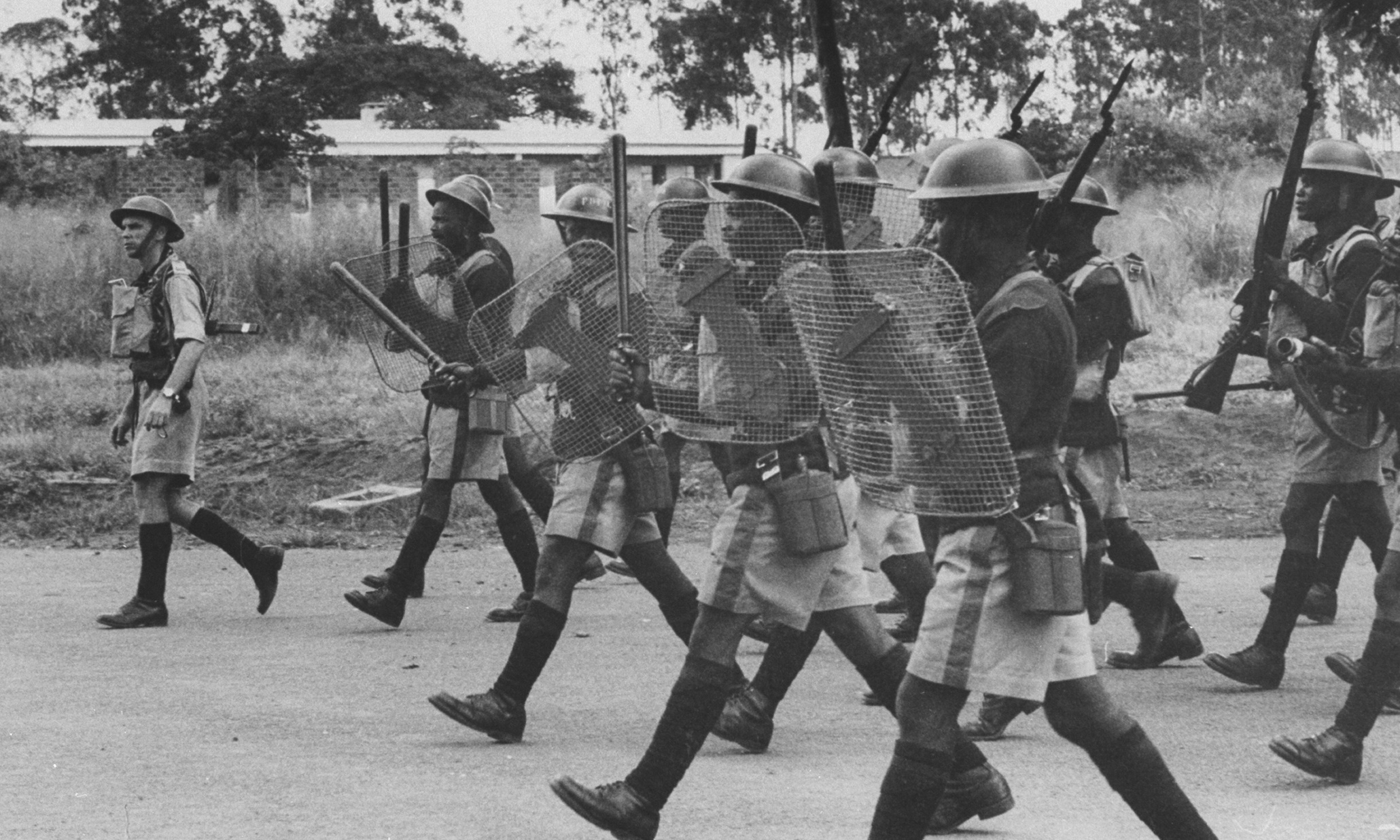 British Colonialism in Kenya British Colonial Forces Charge