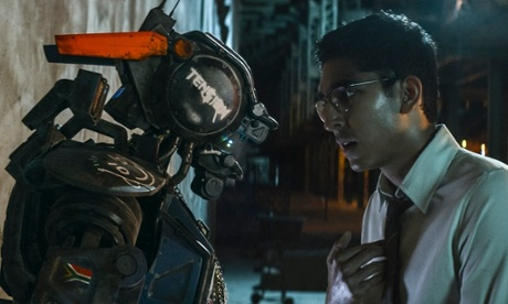 Chappie review – robot boy grows up to become angry robot teen