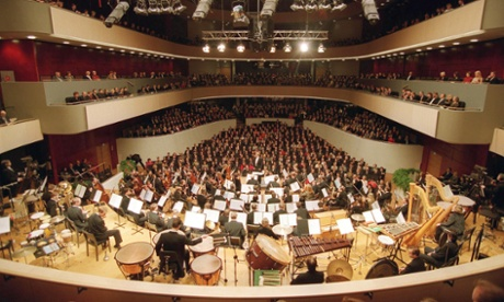 Opening of the Sibelius Hall.