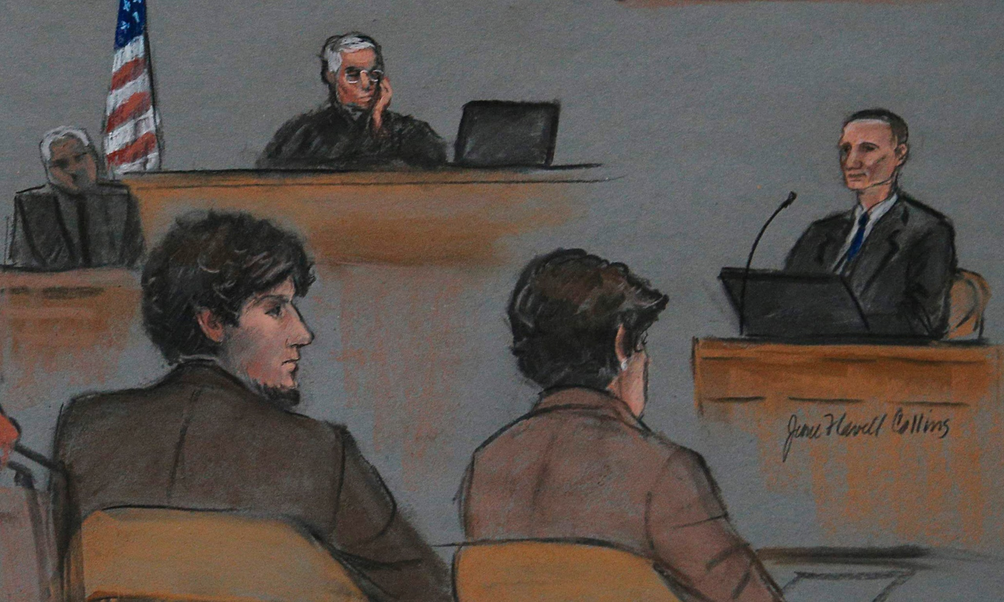 Boston Marathon victim's father testifies at trial: 'We were unlucky that day'