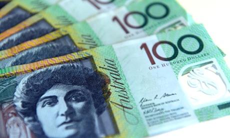 Australian dollar falls sharply after strong US jobs figures