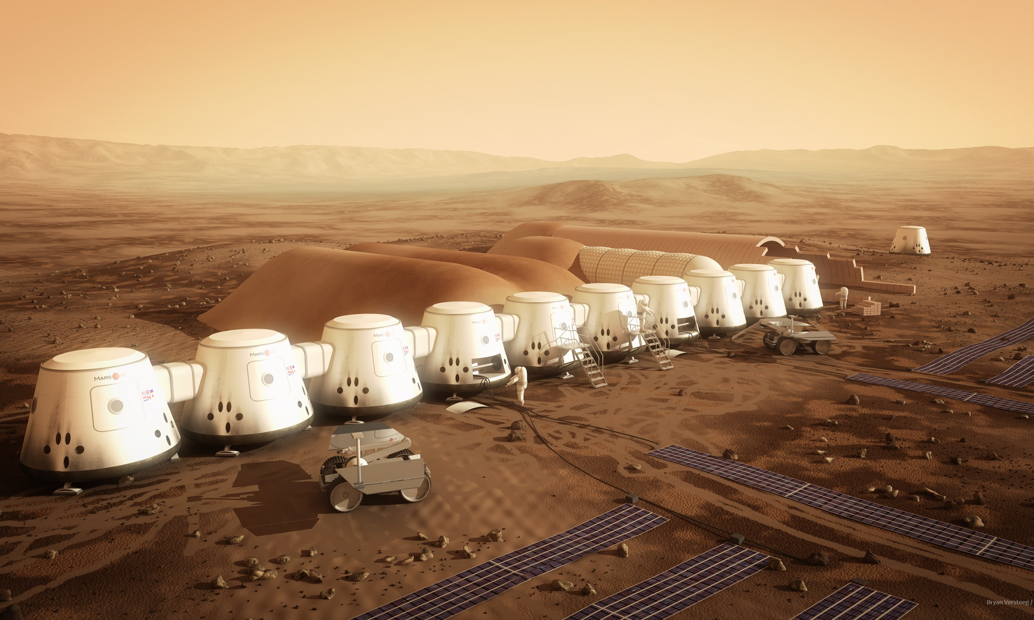 Let's all move to Mars! The space architects shaping our future