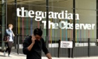 The Guardian Newspaper office on York Way, London