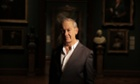 Simon Schama at the launch of his forthcoming exhibition at the National Portrait Gallery