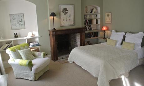 Bedroom at La Cour Sainte-Catherine, Honfleur