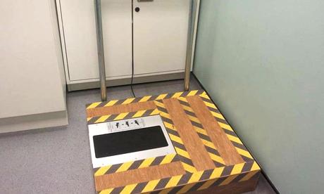 Burglars beware: the world's first crime-fighting shoe-scanner is here