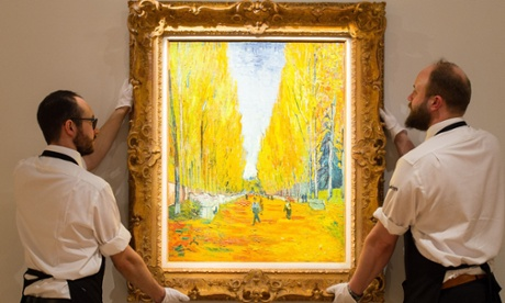 Van Gogh, Picasso and others go on display before New York sales jamboree